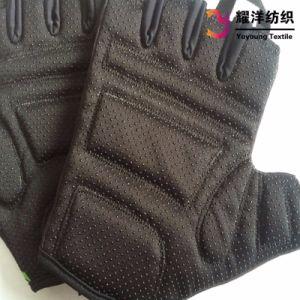 PVC antidérapante DOT en étoffe de bonneterie des gants pour le cyclisme