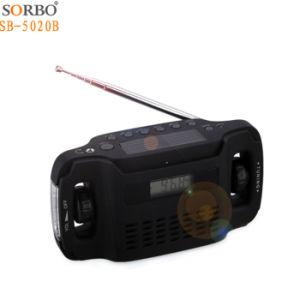 راديو مصباح كهربائيّ مع [هندكرنكينغ] قوة [رشرجبل]