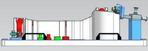 고무 호스 회의에서 사용되는 측정 공구를 가공하는 CNC