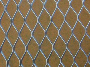 Matériau de fil en acier galvanisé Grill Expanded Metal Mesh