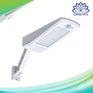 900lm Solar iluminación LED impermeable al aire libre para la pared del jardín 48 LED Cuatro Modos