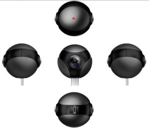 Hi720 forma de bola pequeña cámara panorámica para smartphone Android