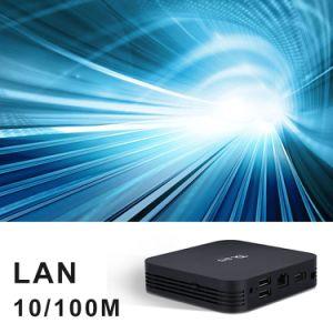 Androider intelligenter Fernsehapparat-Kasten Tx95 mit Amlogic S905X 2GB RAM/16GB ROM-gesetztem Spitzenkasten mit Digitalanzeige Kodi voll einprogrammiert Support WiFi 2.4G plus 5.8g, BT