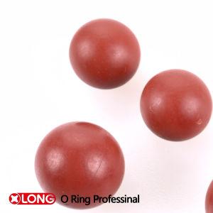 Guarnizione rossa flessibile della sfera della gomma del solido NBR 60 di alta qualità