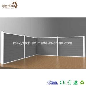 Vendedor caliente ecológica Fácil de instalar el WPC valla para casas 1.8*1.8m