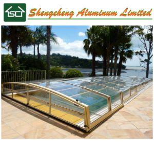 De moderne Dekking van het Zwembad van het Frame van het Aluminium van het Ontwerp met meer dan 10 Jaar van de Garantie