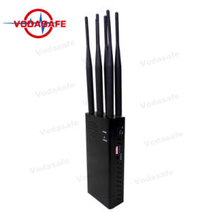 Het draagbare Volgende Apparaat van de Stoorzender/Blocker CDMA/GSM/3G/4glte Cellphone/Wi-Fi/Bluetooth Fullband GPS/Glonass/Galileol1-L5/lojack/Wi-FI, 4.2W