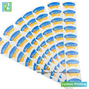 Пользовательские цвета Pantone печати виниловая пленка ПВХ Kiss вырезать наклейки с торговой маркой