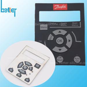 Un joint en caoutchouc de silicone personnalisé/feuille/joint avec adhésif acrylique de disque