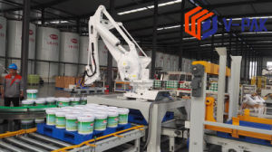 Arbeidsbesparende het Palletiseren van de Robot Machine voor het Stapelen van het Karton