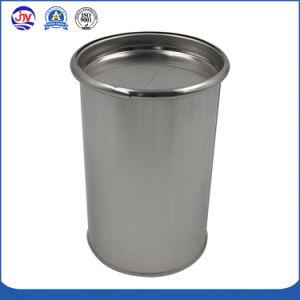 Round Lata química com tampa de metal
