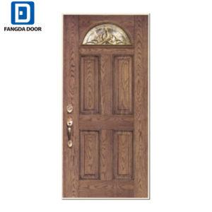 Portello di legno moderno della vetroresina del mestiere della mano di sguardo del portello