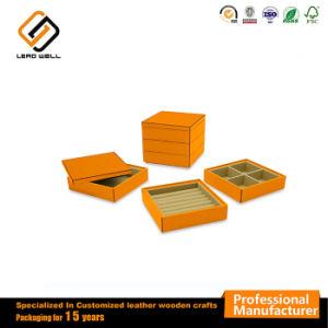 ラッカーピアノ光沢のある木製の宝石類のリングの表示ギフト用の箱