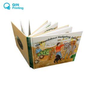 子供の厚いペーパー本の印刷
