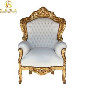 Commerce De Gros Roi Et Reine Mariage Chaise Style Baroque