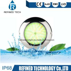 IP68 316 indicatore luminoso subacqueo della piscina dell'acciaio inossidabile LED