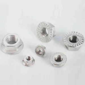 Professional Fabricant de gros de l'écrou hexagonal M5 de catégorie 8 de la plaque de zinc de l'écrou à embase