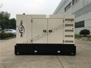 50kVA Ce/ISO Plg PT를 가진 Perkins가 강화하는 방음 디젤 엔진 발전기 세트