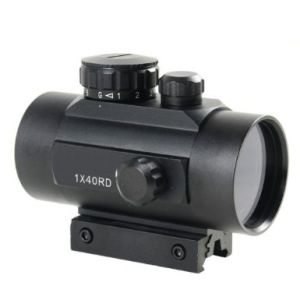 Тактическое 1X40 Red Green DOT Sight Scope With10mm - Moa 20mm Weaver Mounts 5