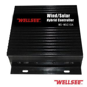 El Viento Solar Híbrido Wellsee/Controlador de luz (WS-SWC 10A)