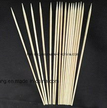 Formati differenti dello spiedo di bambù e del bastone del BBQ
