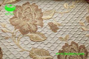 De Stof van het Gordijn van het Effect van de Rimpel van de Jacquard van de polyester (BS1305)