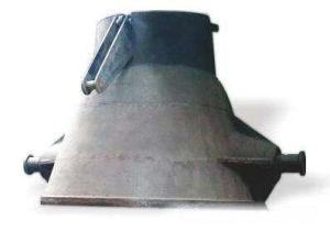 製鉄所のための鋳物場のひしゃくの鋳造鋼鉄スラグ鍋