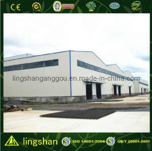 Мастерская стальной структуры с CE Cert5ification (LS-S-084)