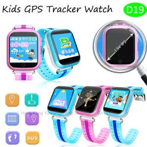 Het meertalige GPS van Jonge geitjes Horloge van de Drijver met geo-Omheining & Sos Functie D19