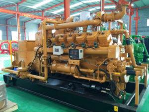Refroidissement par eau de 400 kw générateur de gaz naturel avec l'allemand de contrôle d'origine