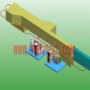 Automatische Puder-Beschichtung-Zeile mit Spray-Vorbehandlung