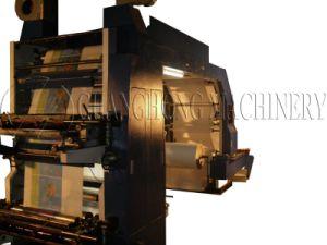 Multicolor tela Flexo máquina de impresión no tejido (CH884)