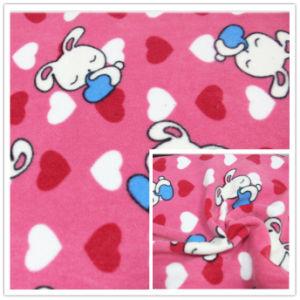 만화 반대로 Pilling Polar Fleece 100%년 Polyester FDY 150d/96f Knitting Fleece, Textile를 위한, Garment.
