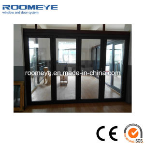 Горячая продажа двойные стекла алюминиевая рама складные двери разумные цены