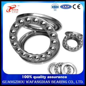 China Proveedor de la jaula de acero de la carga axial de rodamiento de bolas de empuje plana 51217 20X42X12