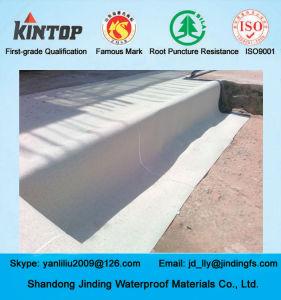 HDPE het Zelfklevende Waterdicht makende die Blad van het Polymeer op Metro wordt gebruikt
