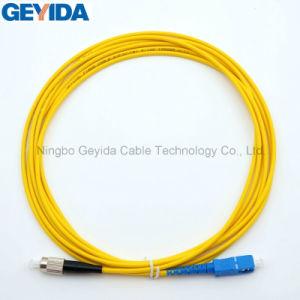 FC/Upc-Sc/UPC simple cable de conexión de fibra óptica
