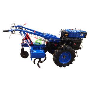 Zubr SH101 Caminar Tractor/10CV de potencia del motor Diesel de macollos/Diesel el tractor con Rotary lanza