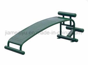 Equipamiento de gimnasio al aire libre para la salud Sit-up formador