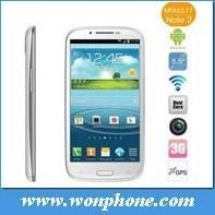 Van China 5.5inch de Androïde Mtk6577 Slimme van de Telefoon N9330- Nota van uitstekende kwaliteit 2