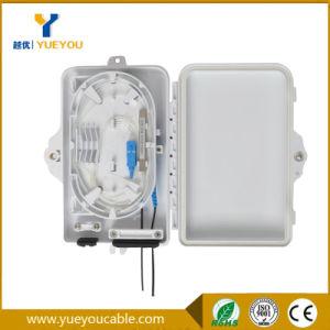 4 порт оптоволоконных сетей FTTH распределительной коробки с помощью команды SC/APC адаптер переменного тока