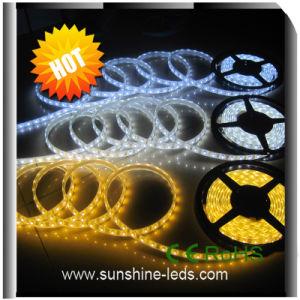 Resistente al agua no SMD 5050 de 3528 335 tiras de LED blanco cálido