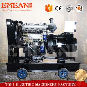 Diesel die van Ricardo Open 12kw Generators door de Alternator van Stanford worden samengesteld