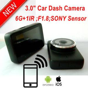 Neuer 3.0inch voller HD1080p Auto-Digital-Videogerät-Flugschreiber mit 2.4G WiFi, 5.0mega Sony Auto DVR, beste Nachtsicht-Gedankenstrich-Kamera