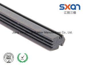 Venta directa de fábrica de caucho de silicona personalizadas Tira de sellado de extrusión