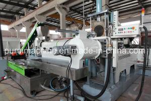 Vis de déchets de plastique Granulation de la machine avec mourir face à la coupe