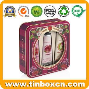 Les enfants Jouets Fenêtre PVC TIN Box pour cadeau conteneur de stockage