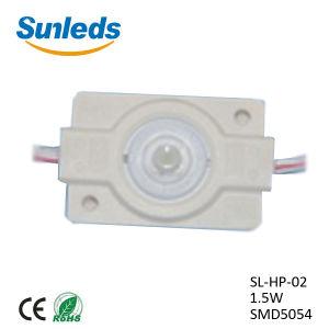 La luz de 2W de 1,5 W de alta potencia de 3W de luz módulo LED impermeable