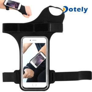 Poche courante de poche de bras de téléphone de brassard de sport