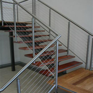 PVC tige en acier inoxydable de la main courante solide Balustrade ...